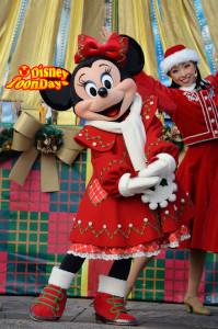 TDS クリスマスウィッシュ2011 クリスマスラップドインリボン ミニーマウス