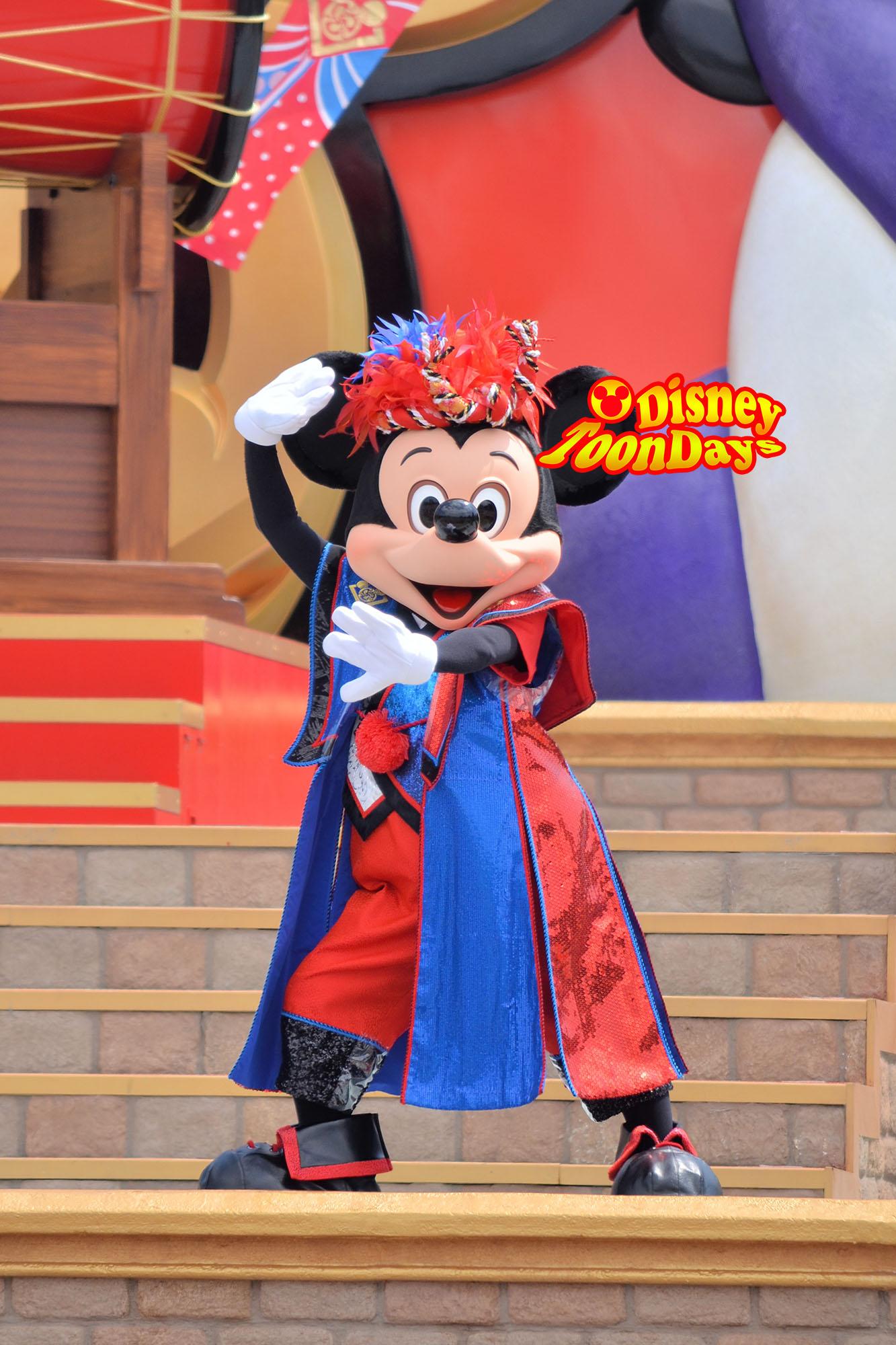TDL ディズニー夏祭り2012 爽涼鼓舞 ミッキーマウス