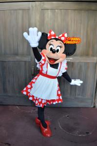 TDL ウエスタンランドグリーティング ミニーマウス