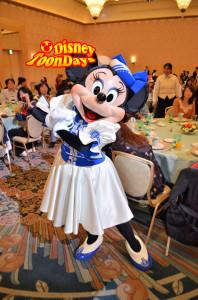 アンバサダーホテル団体プログラム用グリーティング ミニーマウス