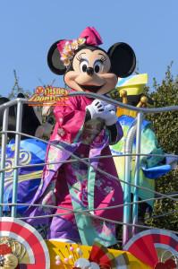 TDL お正月グリーティング 2014 ミニーマウス