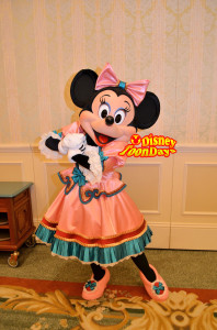 ディズニーランドホテル団体プログラム用グリーティング ミニーマウス