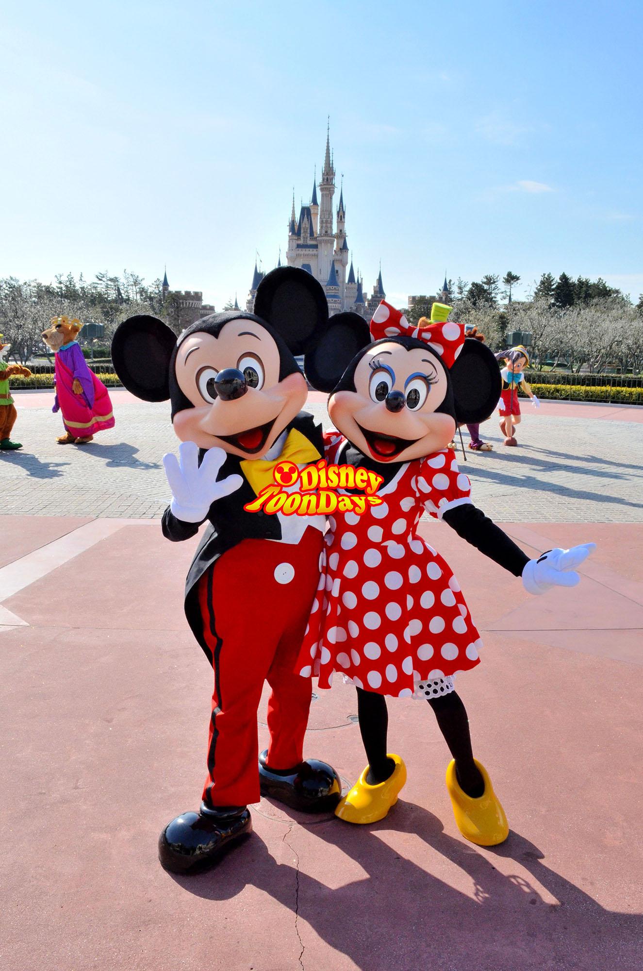 TDL 東京ディズニーランドハッピー15エントリー ミッキーマウス ミニーマウス