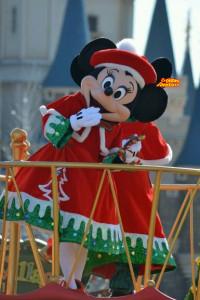 TDL クリスマスファンタジー2012 ディズニーサンタヴィレッジパレード ミニーマウス