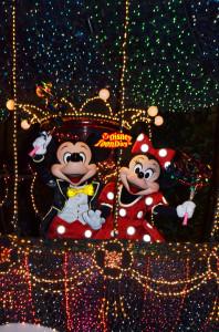 TDL エレクトリカルパレード・ドリームライツ ミッキーマウス ミニーマウス