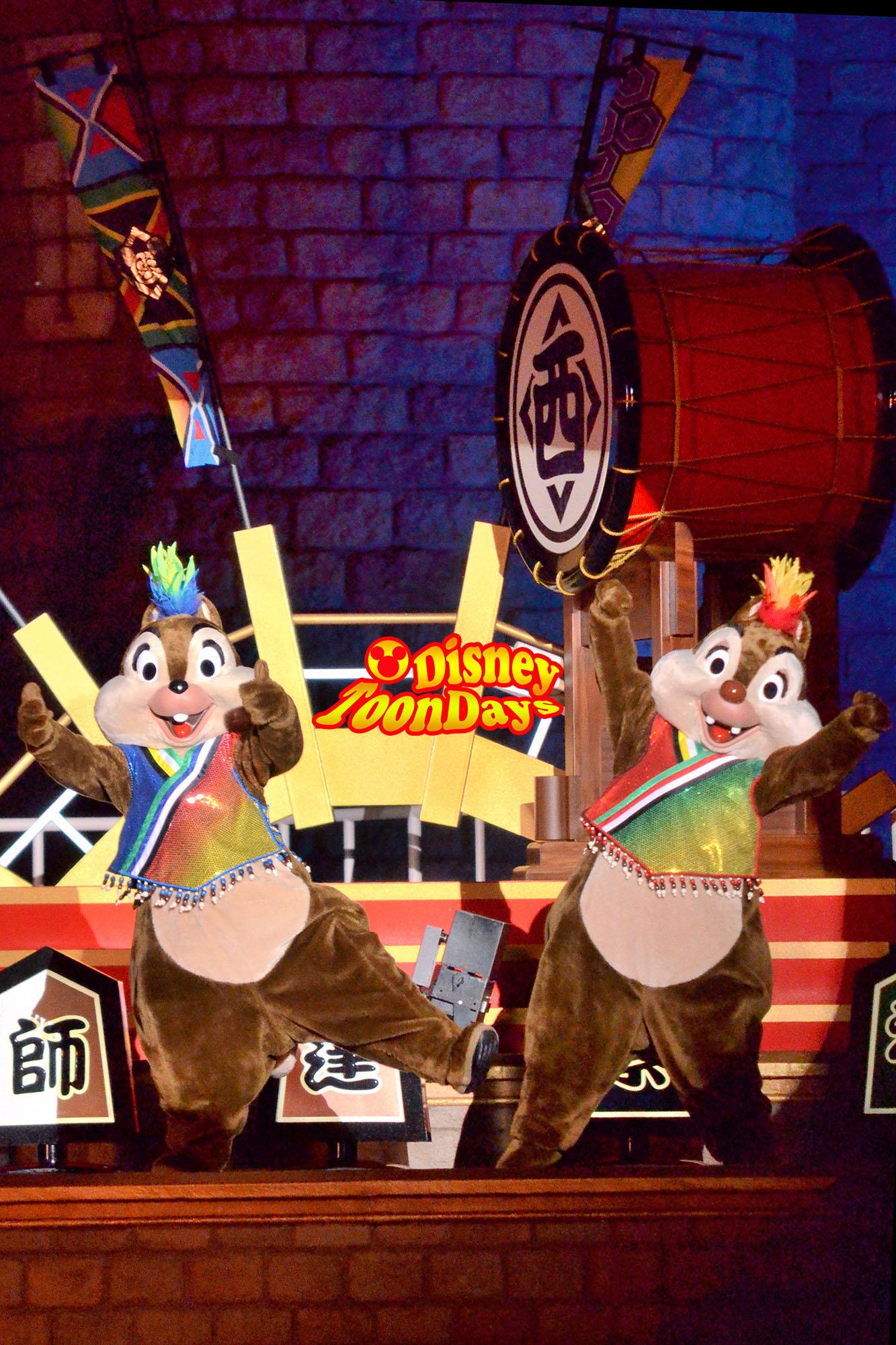 TDL ディズニー夏祭り2012 爽涼鼓舞 チップ デール