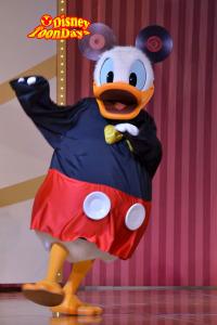 ディズニーアンバサダーホテル ホテルミラコスタ ドナルドのファンタスティックレビュー ドナルドダック