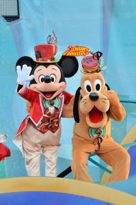 TDS クリスマスウィッシュ2012 テーブルイズウェイティングクリスマスキュイジーヌ ミッキーマウス プルート