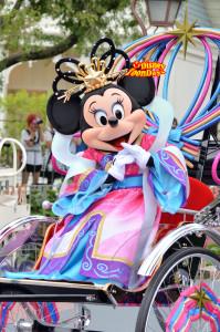 TDL 七夕グリーティング2012 ミニーマウス