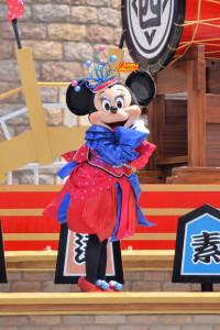 TDL ディズニー夏祭り 2012 爽涼鼓舞 ミニーマウス