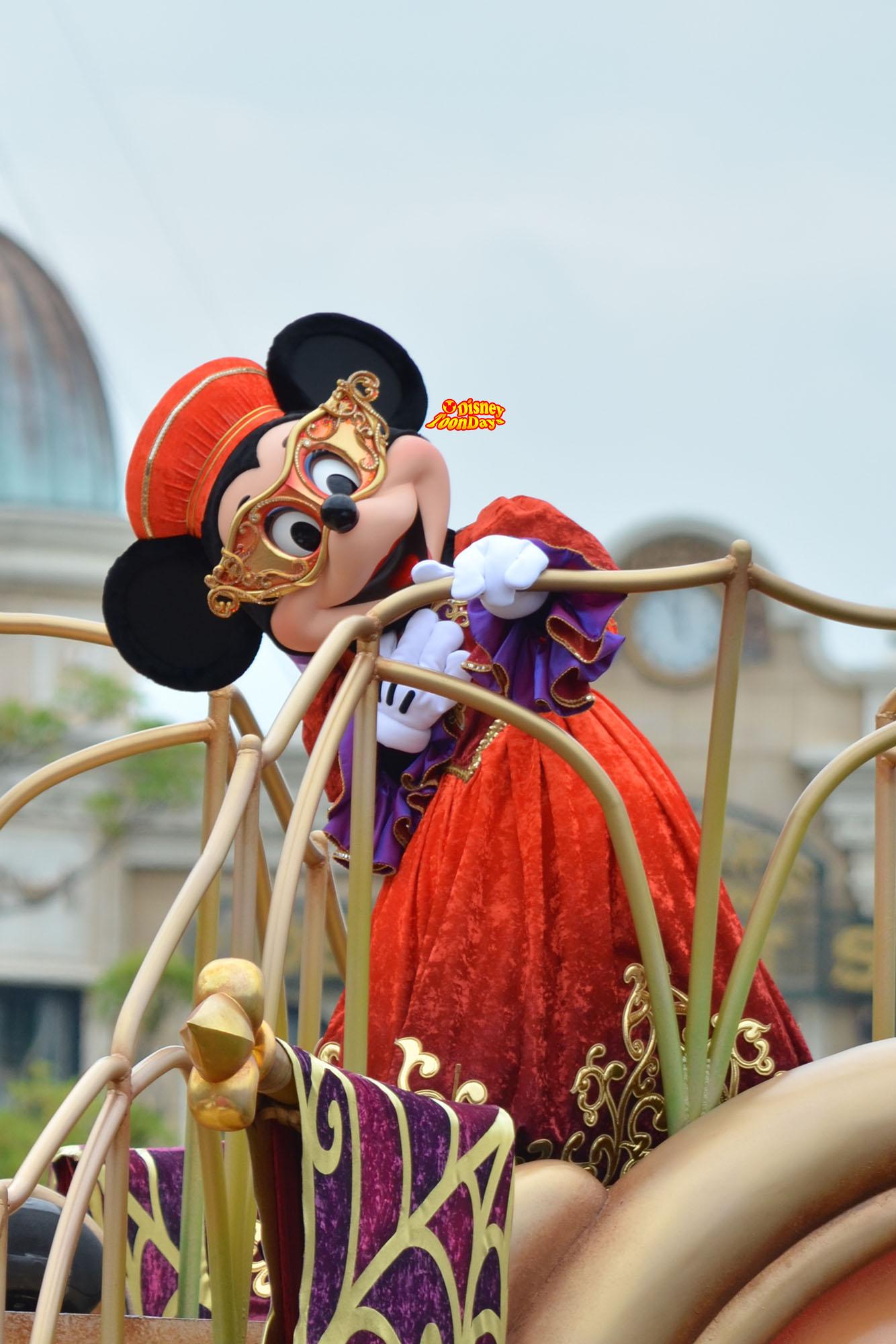 TDS ディズニーハロウィーン 2012 ハロウィーンデイドリーム ミニーマウス