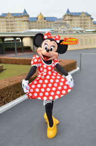 TDL エントランスグリーティング ミニーマウス