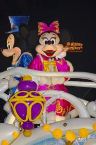 TDS クリスマス・ウィッシュ カラー・オブ・クリスマス 2014 ミニーマウス