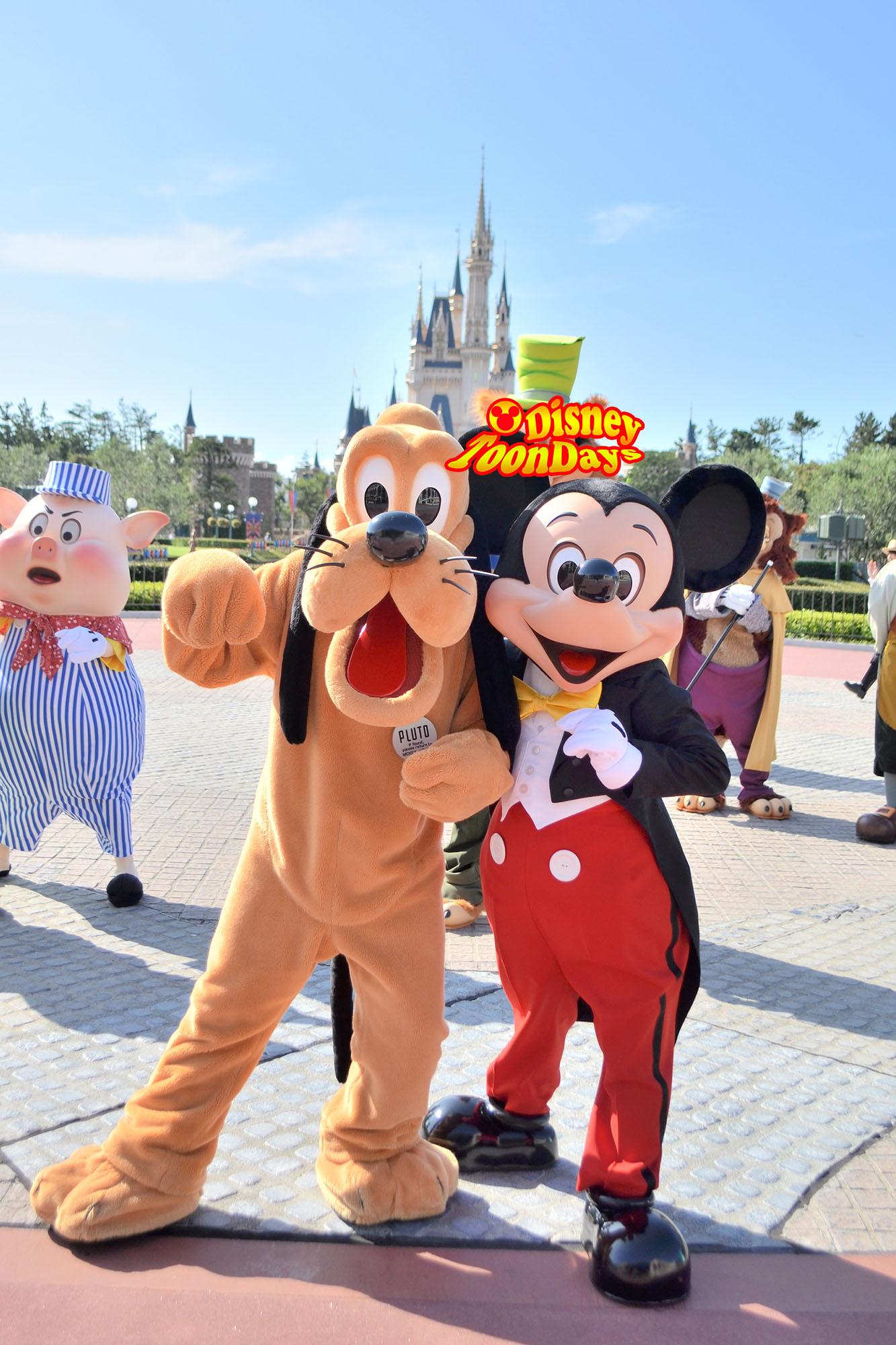 TDL 東京ディズニーランドハッピー15エントリー ミッキーマウス プルート