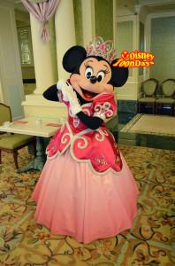 ディズニーランドホテル  プリティプリンセスブレックファスト ミニーマウス