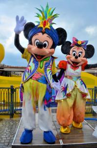 TDS サマーオアシススプラッシュ2012 ミッキーマウス ミニーマウス