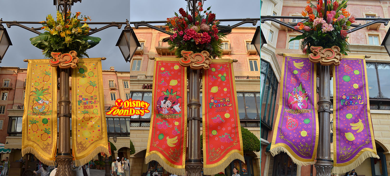 TDS ディズニーサマーフェスティバル2013 装飾