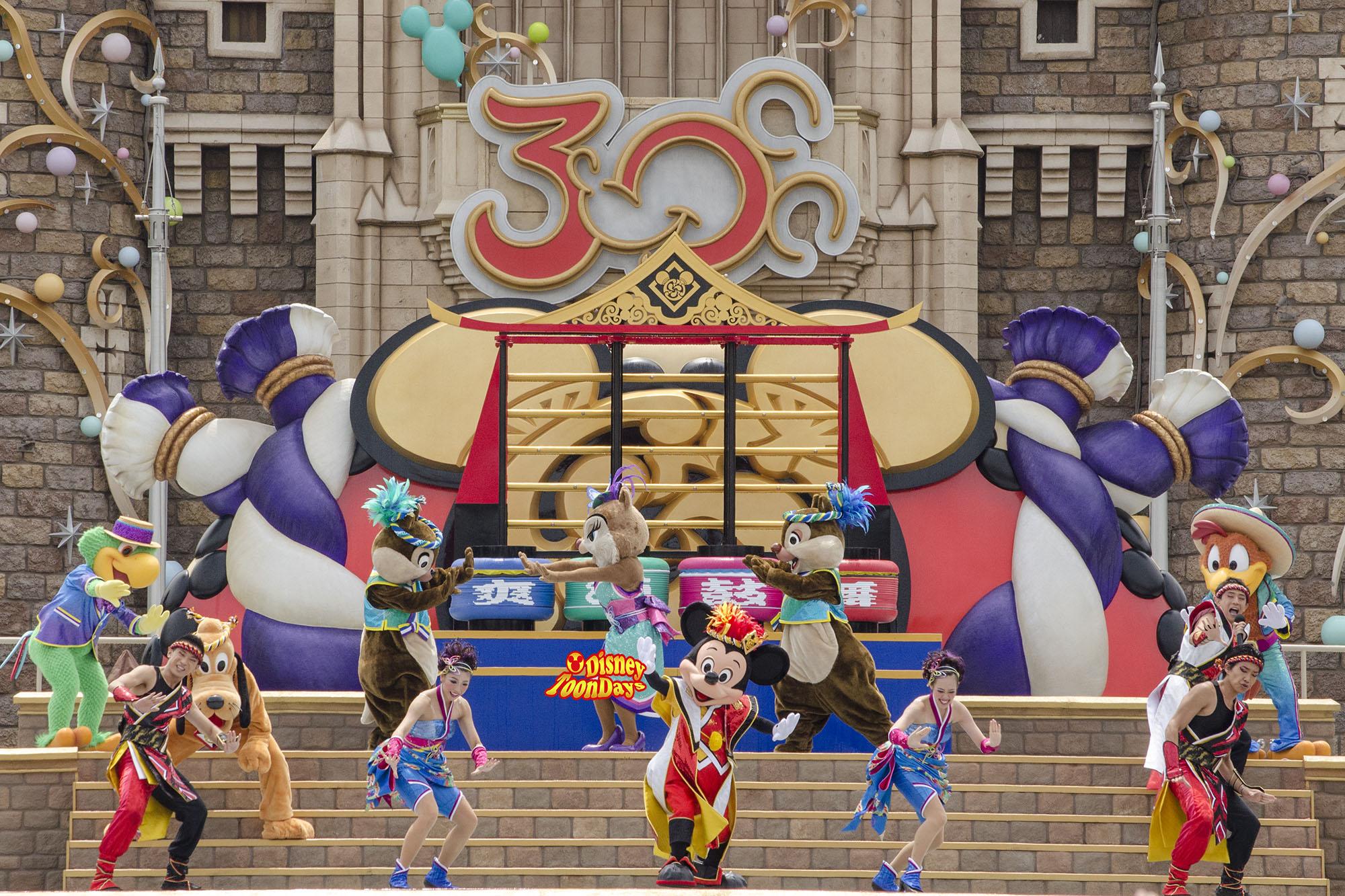 TDS 夏ディズニー2013 爽涼鼓舞 ミッキーマウス プルート クラリス チップ デール ホセキャリオカ パンチート