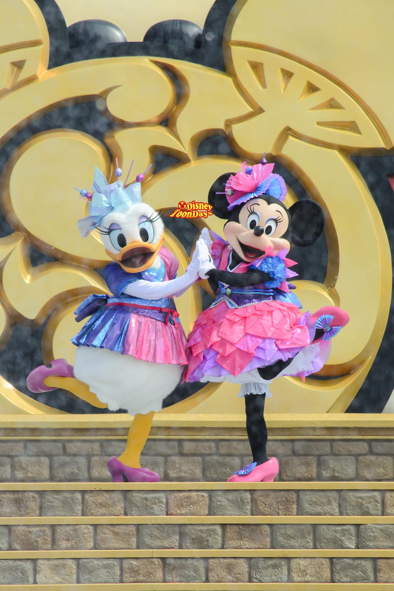 TDL ディズニー夏祭り2013 爽涼鼓舞 ミニー デイジー