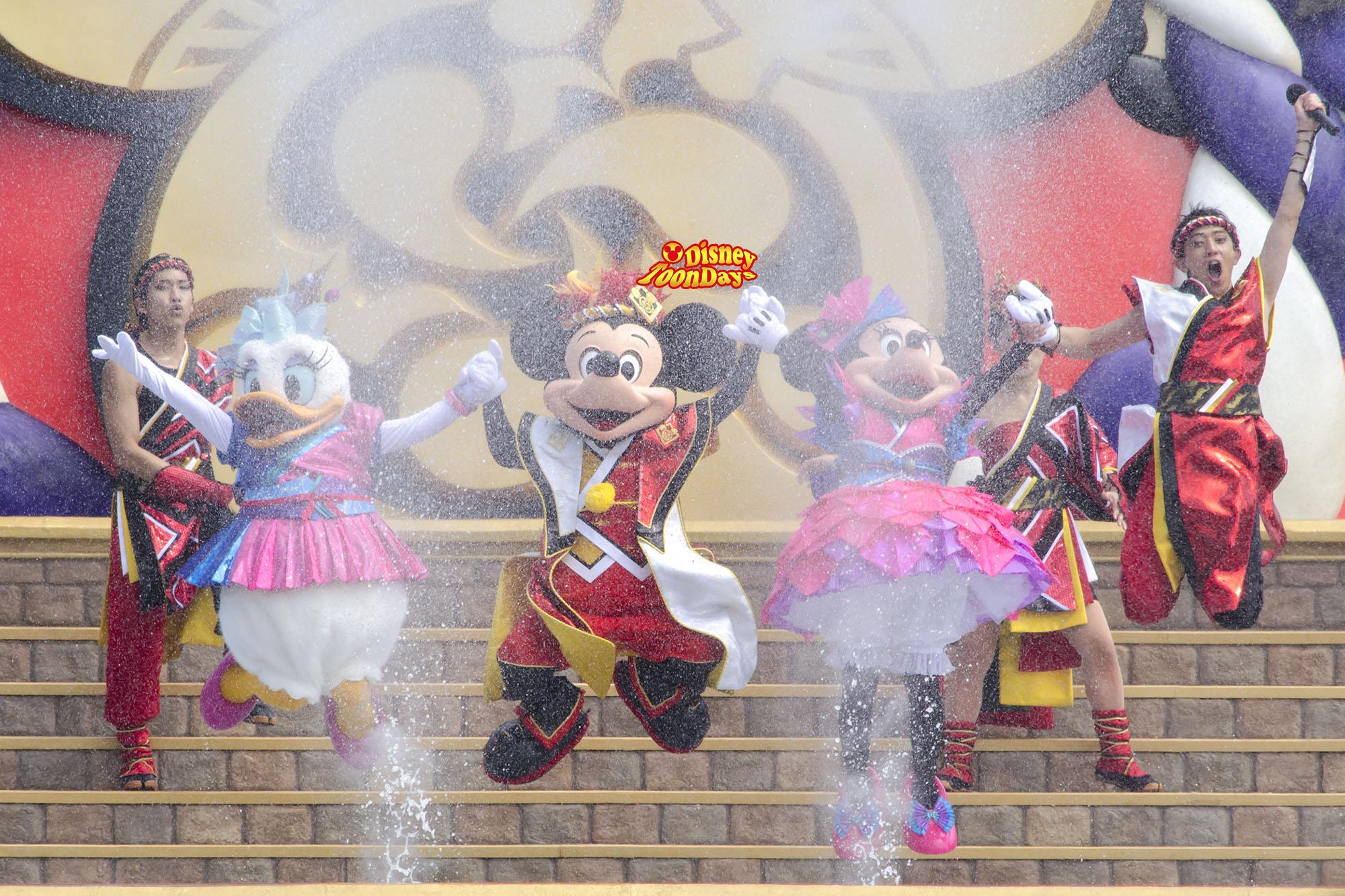 TDL ディズニー夏祭り2013 爽涼鼓舞 ミッキー ミニー デイジー MCお兄さん
