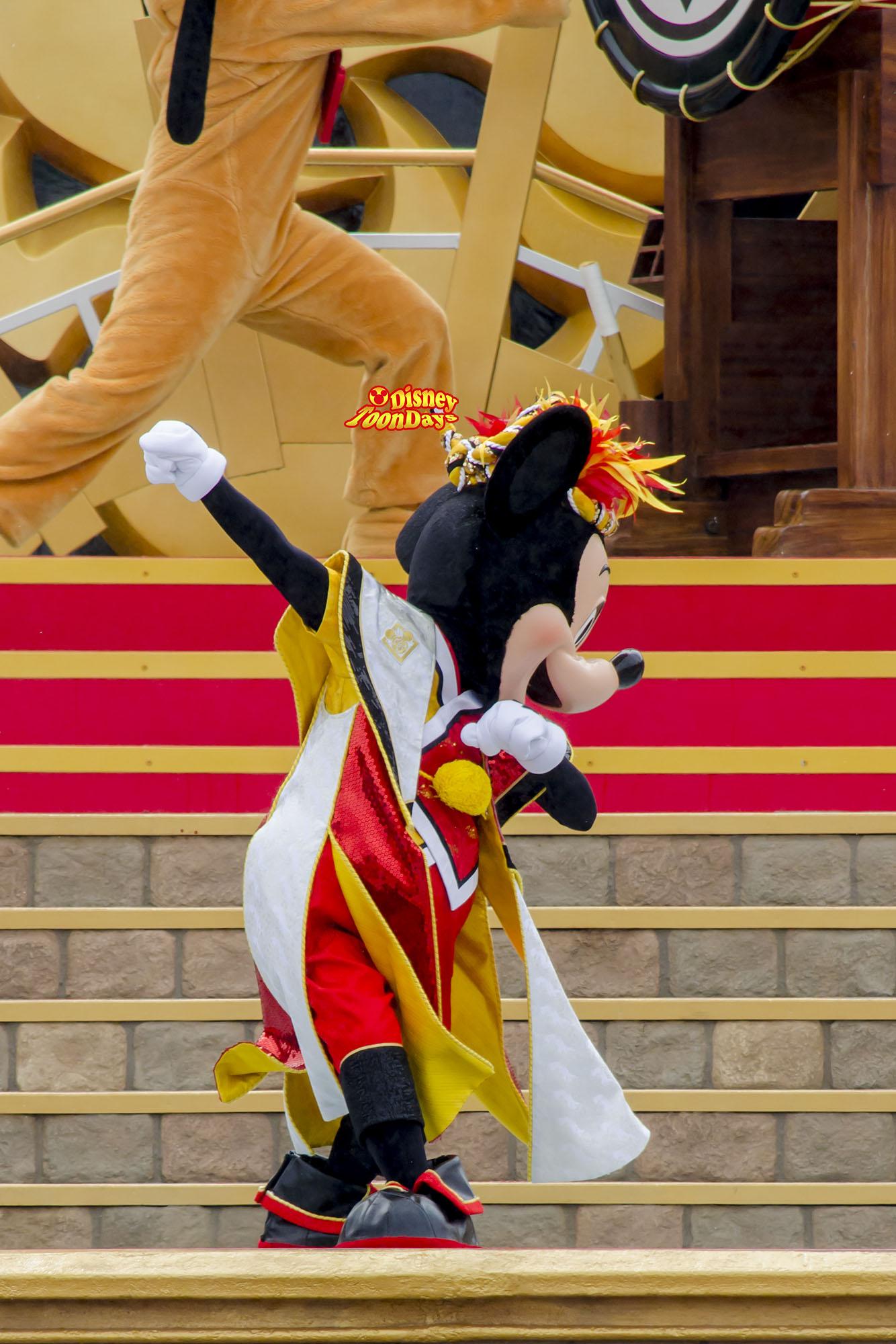 TDS 夏ディズニー2013 爽涼鼓舞 ミッキーマウス