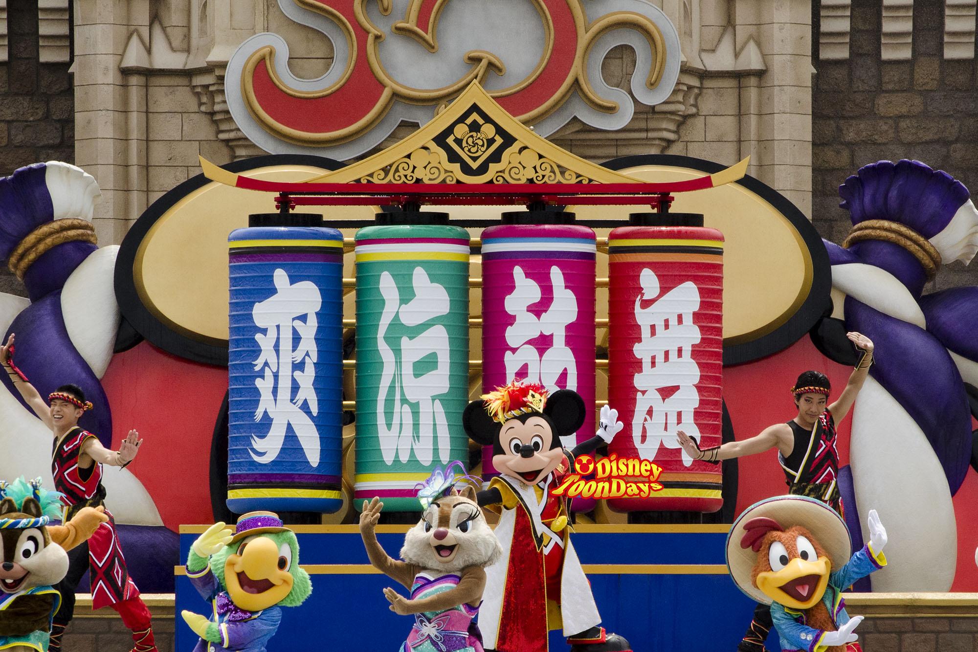 TDL ディズニー夏祭り2013 爽涼鼓舞 装飾