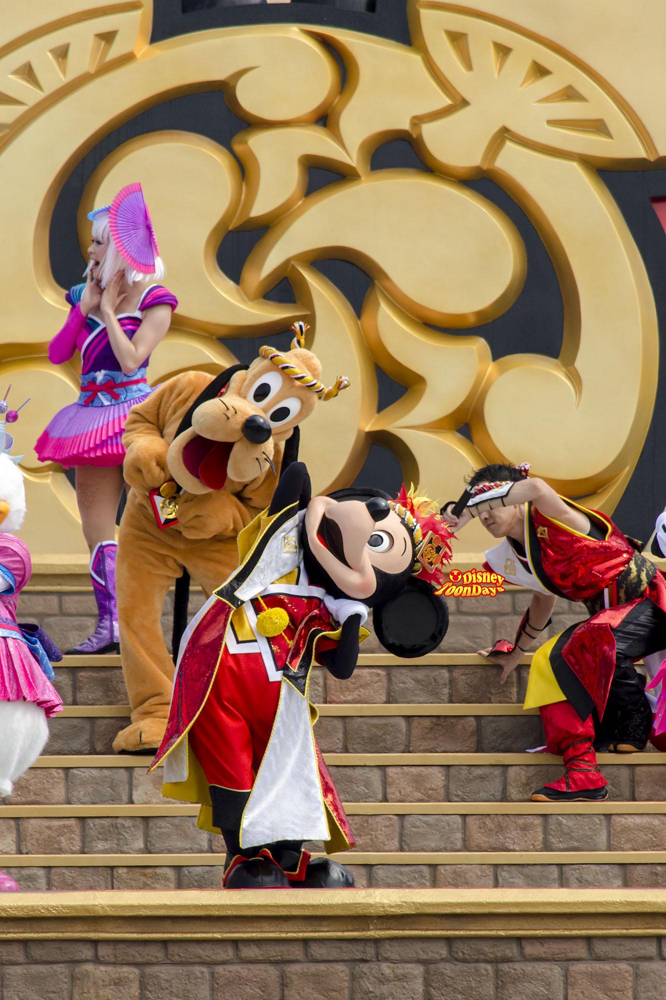 TDL ディズニー夏祭り2013 爽涼鼓舞 ミッキー