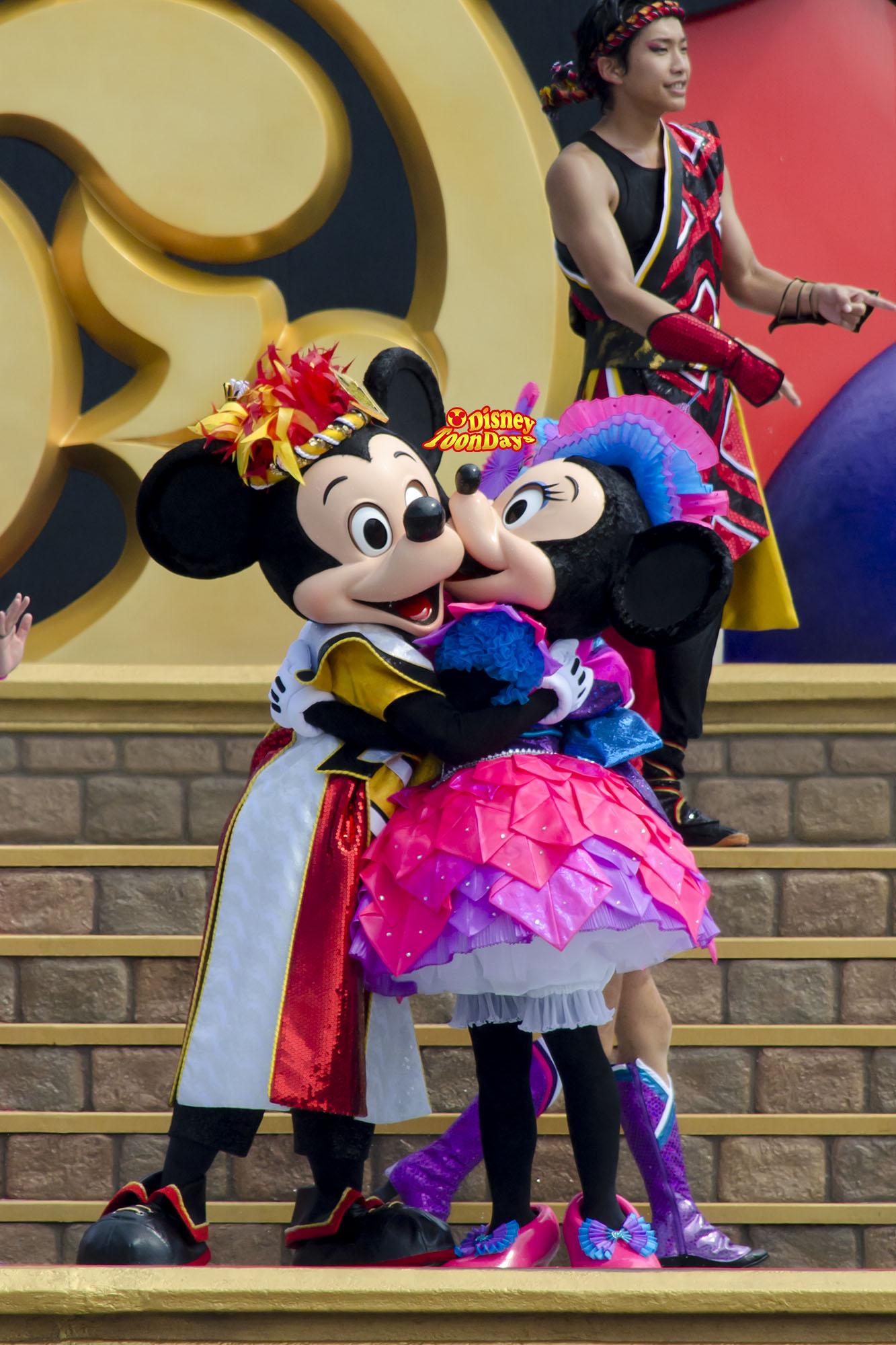 TDL ディズニー夏祭り2013 爽涼鼓舞 ミッキー ミニー