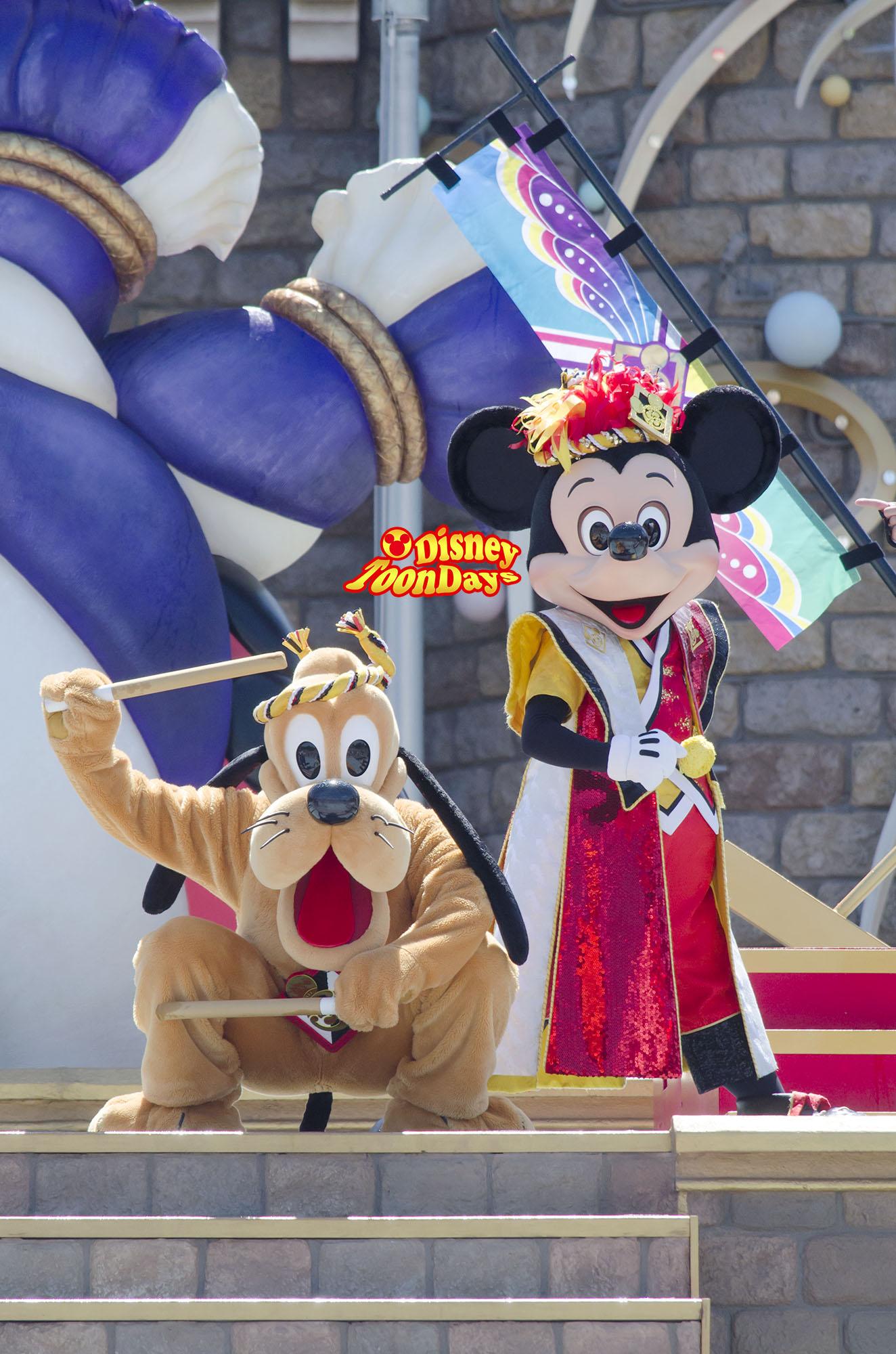 TDL ディズニー夏祭り2013 爽涼鼓舞 ミッキーマウス プルート