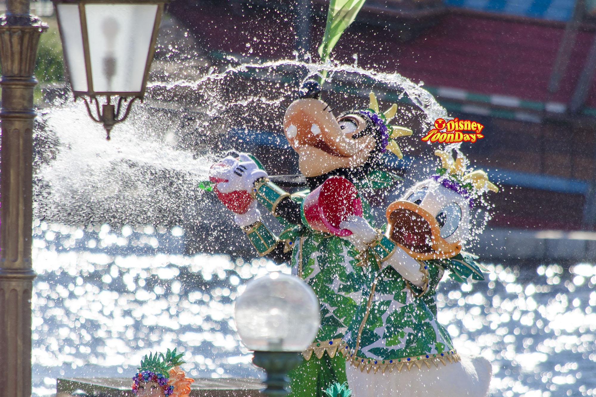 TDS サマーフェスティバル2013 ミニーのトロピカルスプラッシュ ドナルド グーフィー
