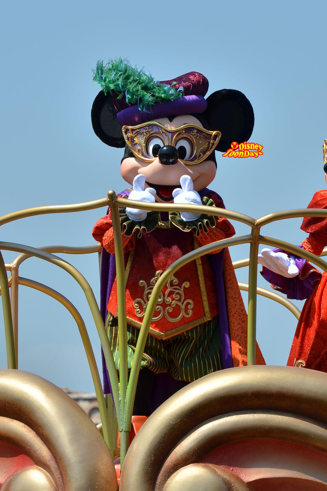 TDS ディズニーハロウィーン2013 ハロウィーンデイドリーム‐スケルトンズ・サプライズ ミッキーマウス