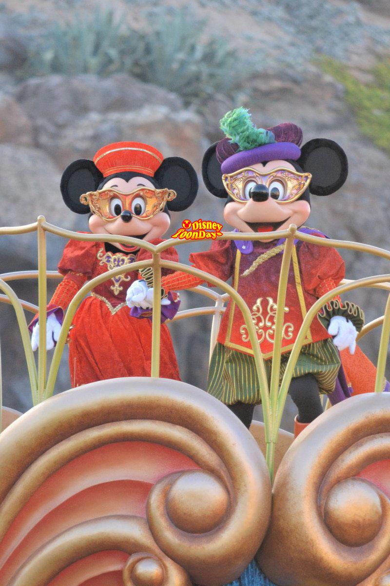 TDS ディズニーハロウィーン2012 ハロウィーンデイドリーム ミッキーマウス ミニーマウス