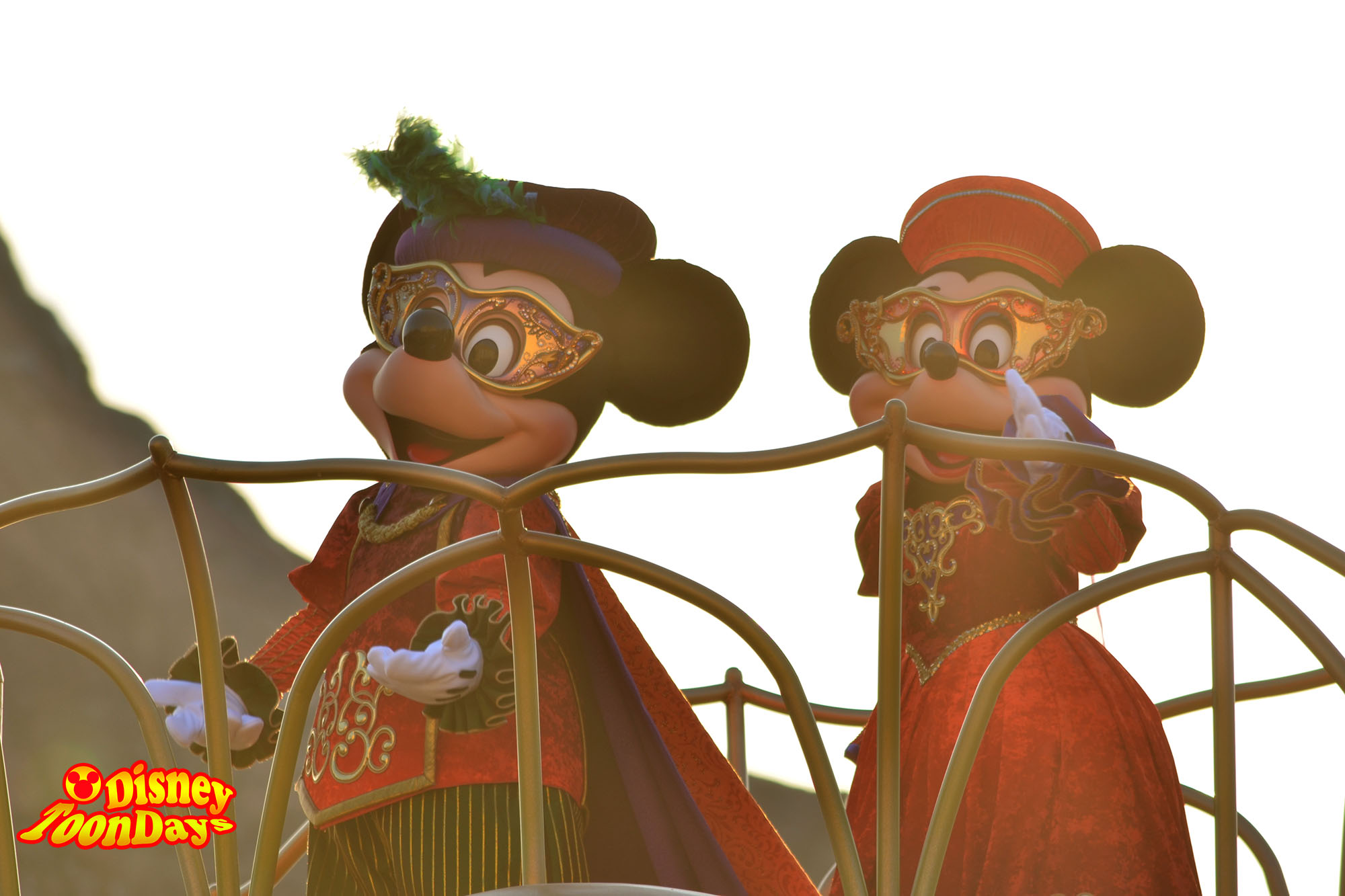 TDS ディズニーハロウィーン2013 ハロウィーンデイドリーム‐スケルトンズ・サプライズ ミッキーマウス ミニーマウス