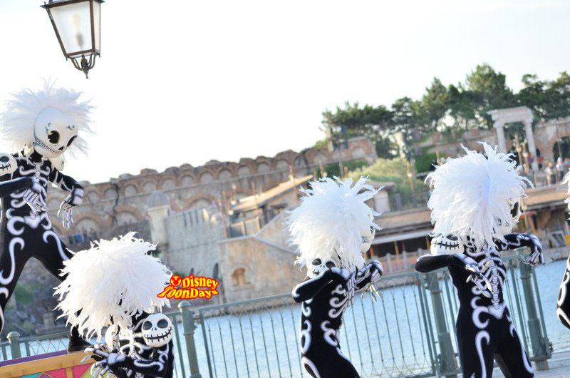 TDS ディズニーハロウィーン2012 ハロウィーンデイドリーム スケルトン1