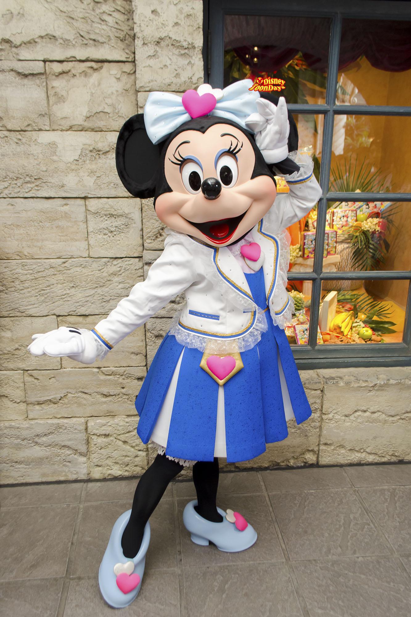 TDS ディズニーシープラザ グリーティング ミニーマウス