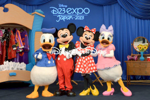D23EJ2013 グリーティング ミッキーマウス ミニーマウス ドナルドダック デイジーダック