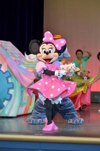 TDL トゥモローランド ショーベース パークファンパーティー ミニーマウス