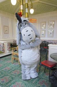 TDL アドベンチャーランド クリスタルパレスレストラン キャラクターブレックファスト グリーティング イーヨー