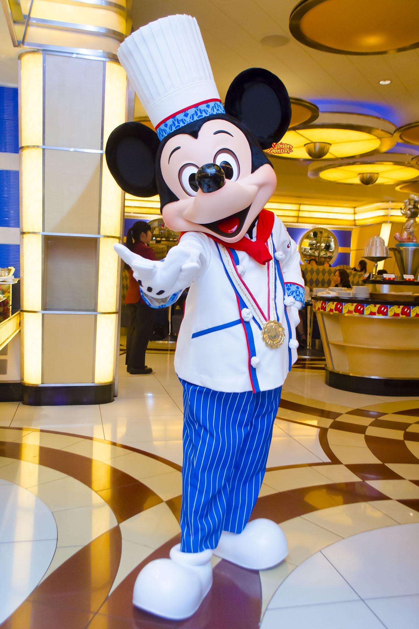 アンバサダーホテル シェフミッキー グリーティング ミッキーマウス