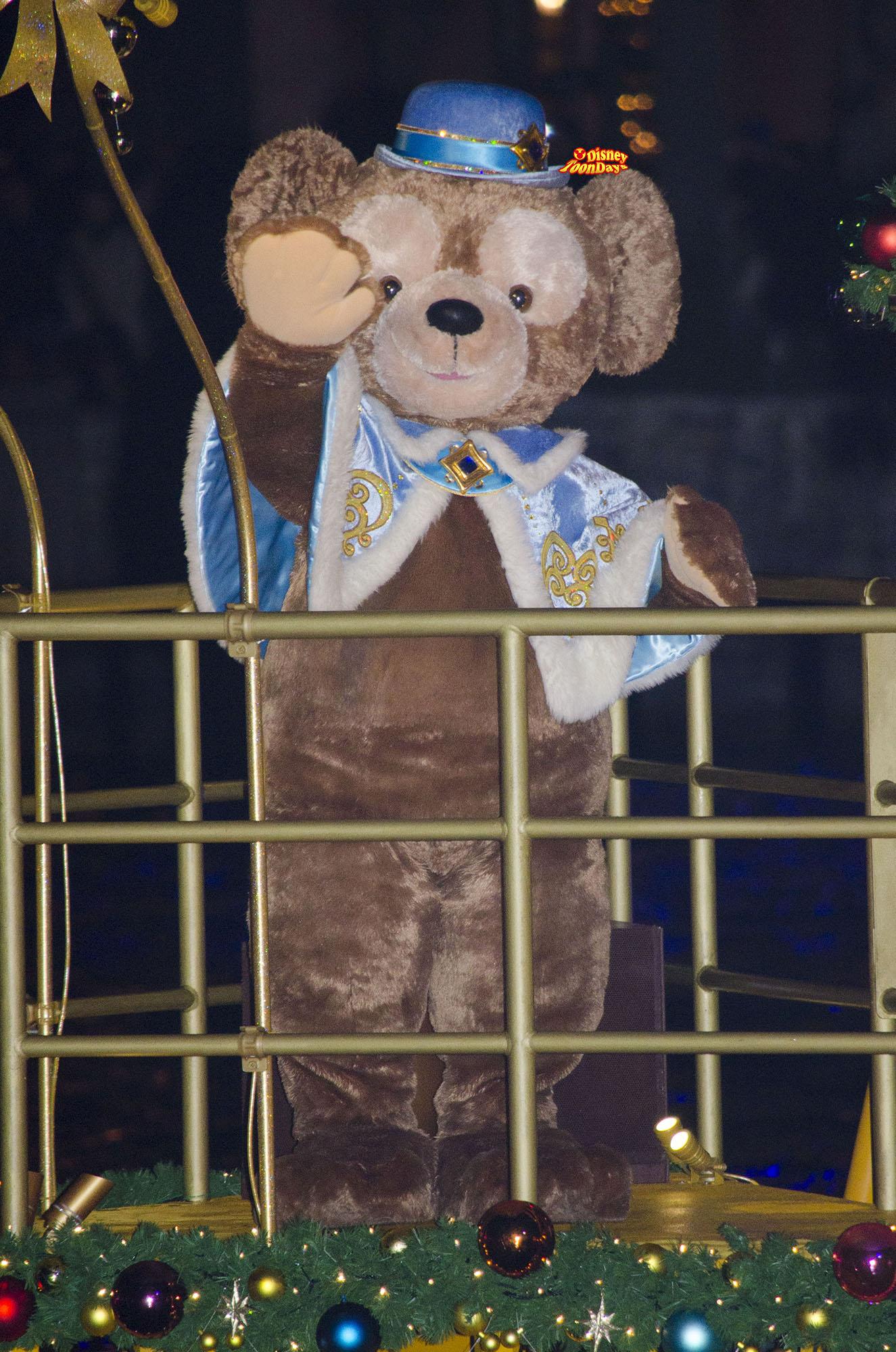 TDS クリスマスウィッシュ 2013 カラーオブクリスマス ダッフィー