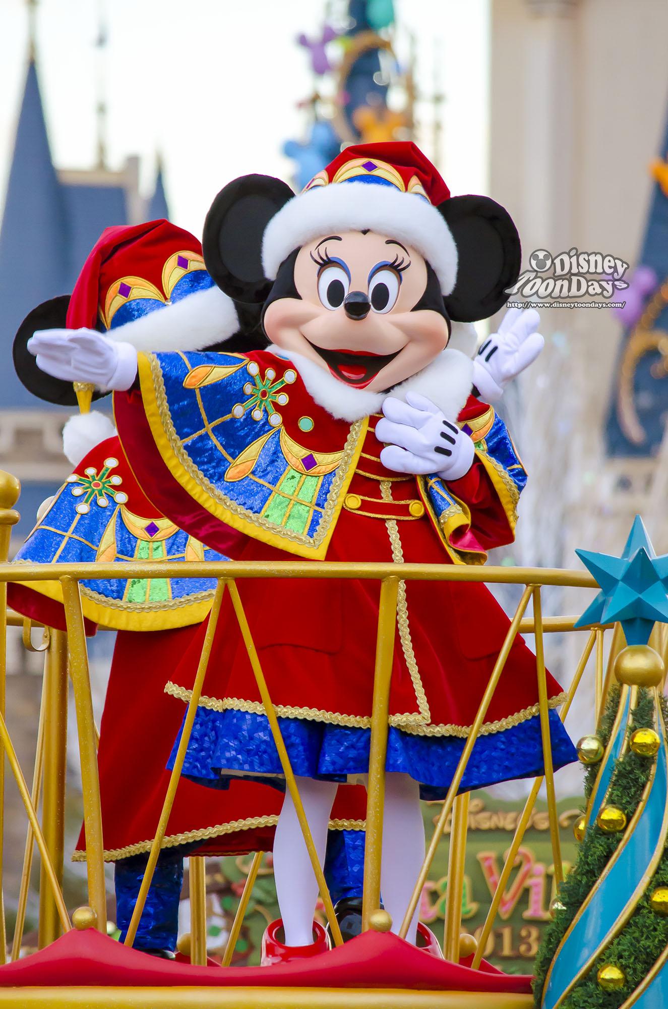 TDL クリスマス・ファンタジー 2013 ディズニー・サンタヴィレッジ・パレード ミニーマウス