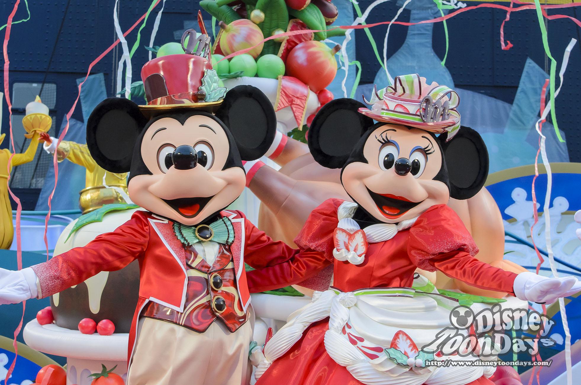 TDS クリスマス・ウィッシュ テーブルイズウェイティング クリスマスキュイジーヌ ミッキーマウス ミニーマウス