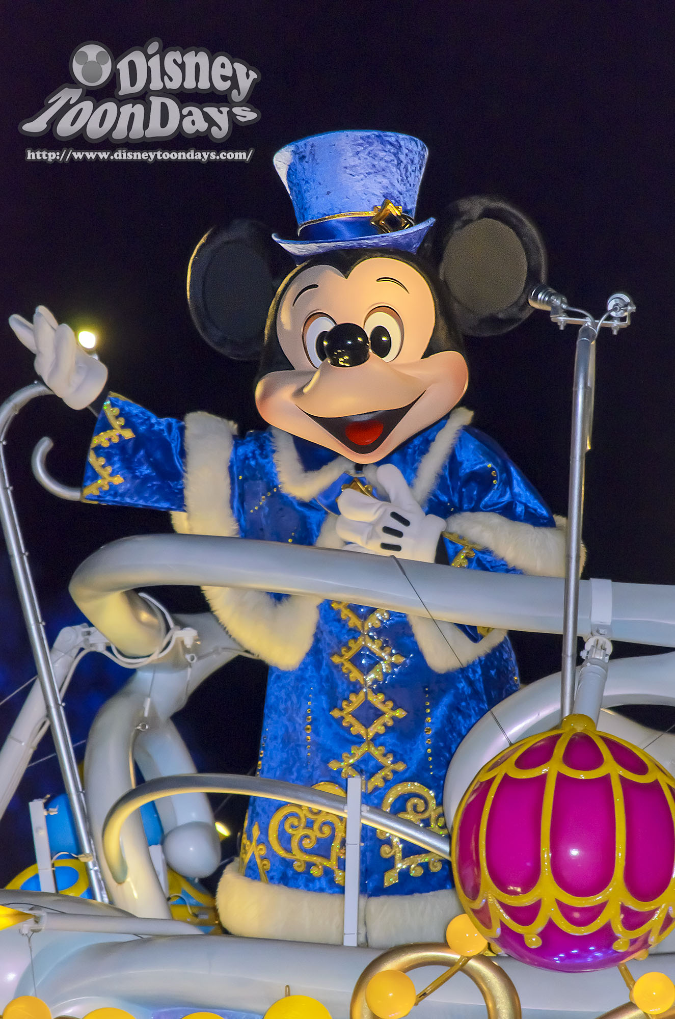 TDS クリスマス・ウィッシュ カラーオブクリスマス ミッキーマウス