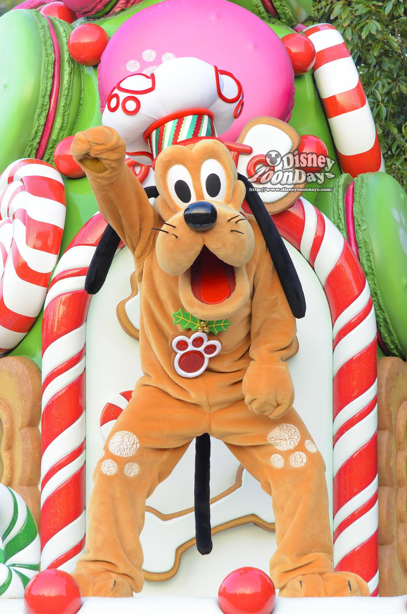 TDL クリスマス・ファンタジー 2013 ディズニー・サンタヴィレッジ・パレード プルート