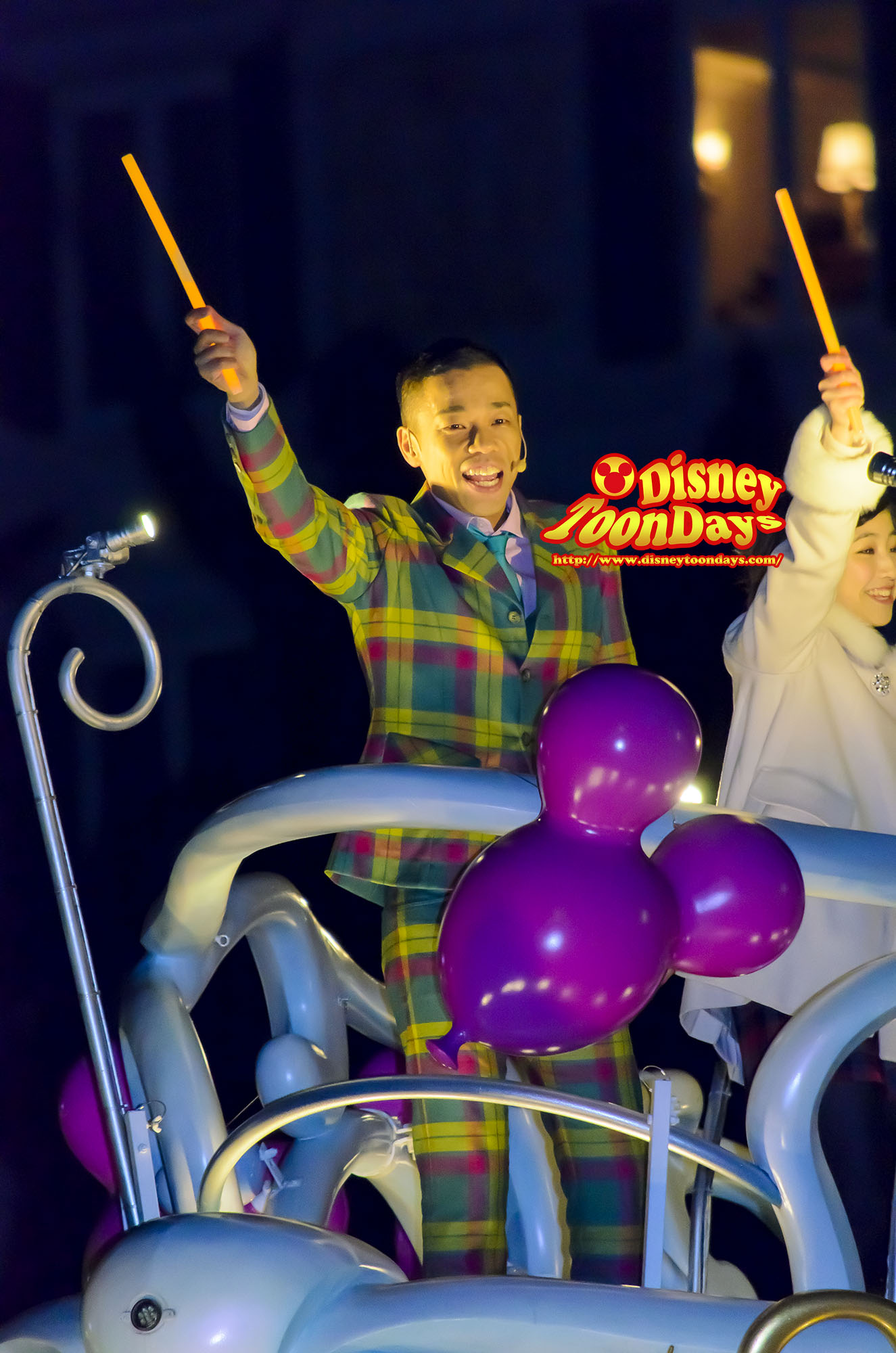 TDS ディズニーチャンネル プライベートイブニングパーティー スペシャルセレモニー 多田健二(COWCOW)