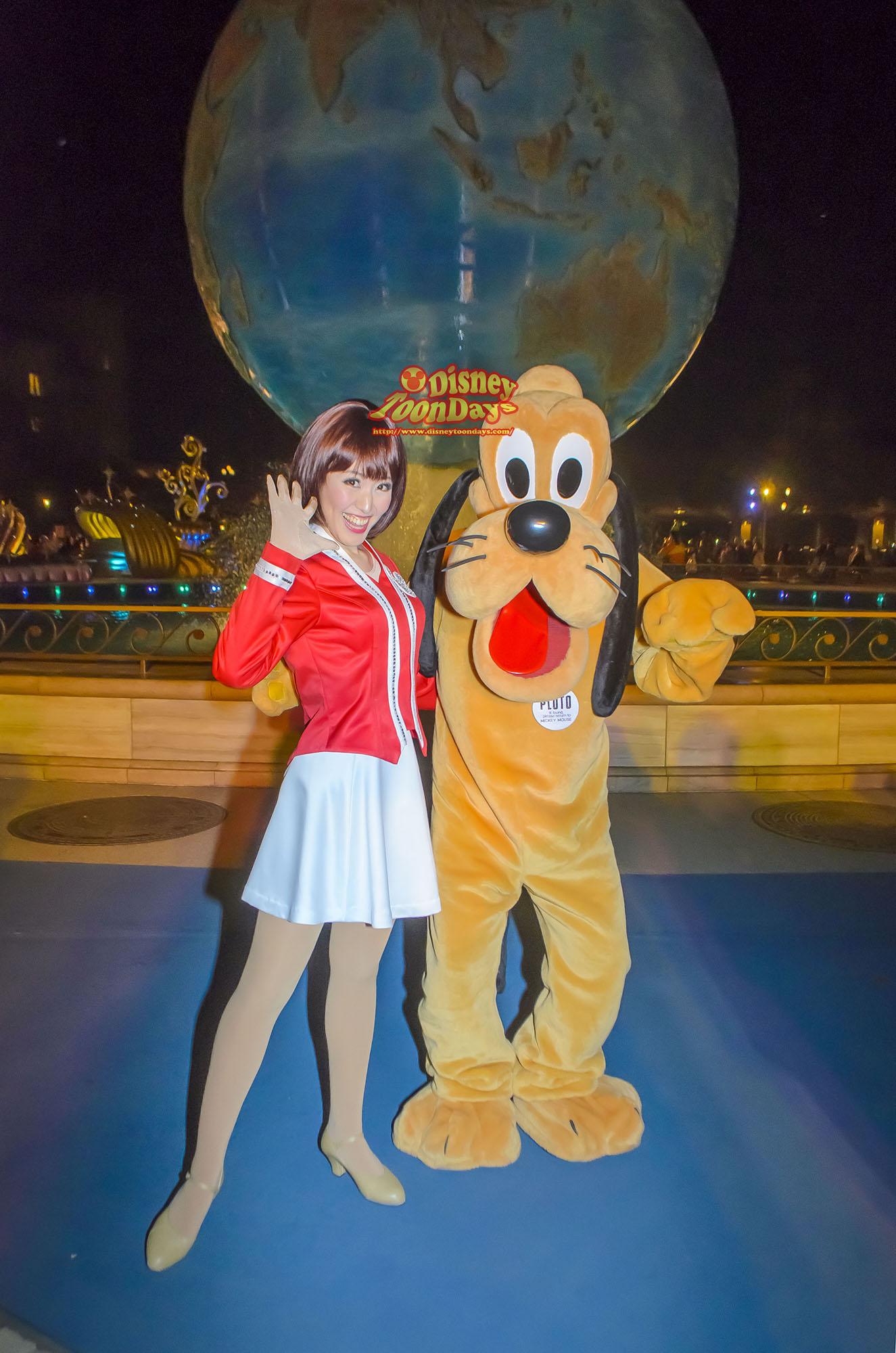 TDS ディズニーチャンネル10周年 プライベートイブニングパーティー プルート