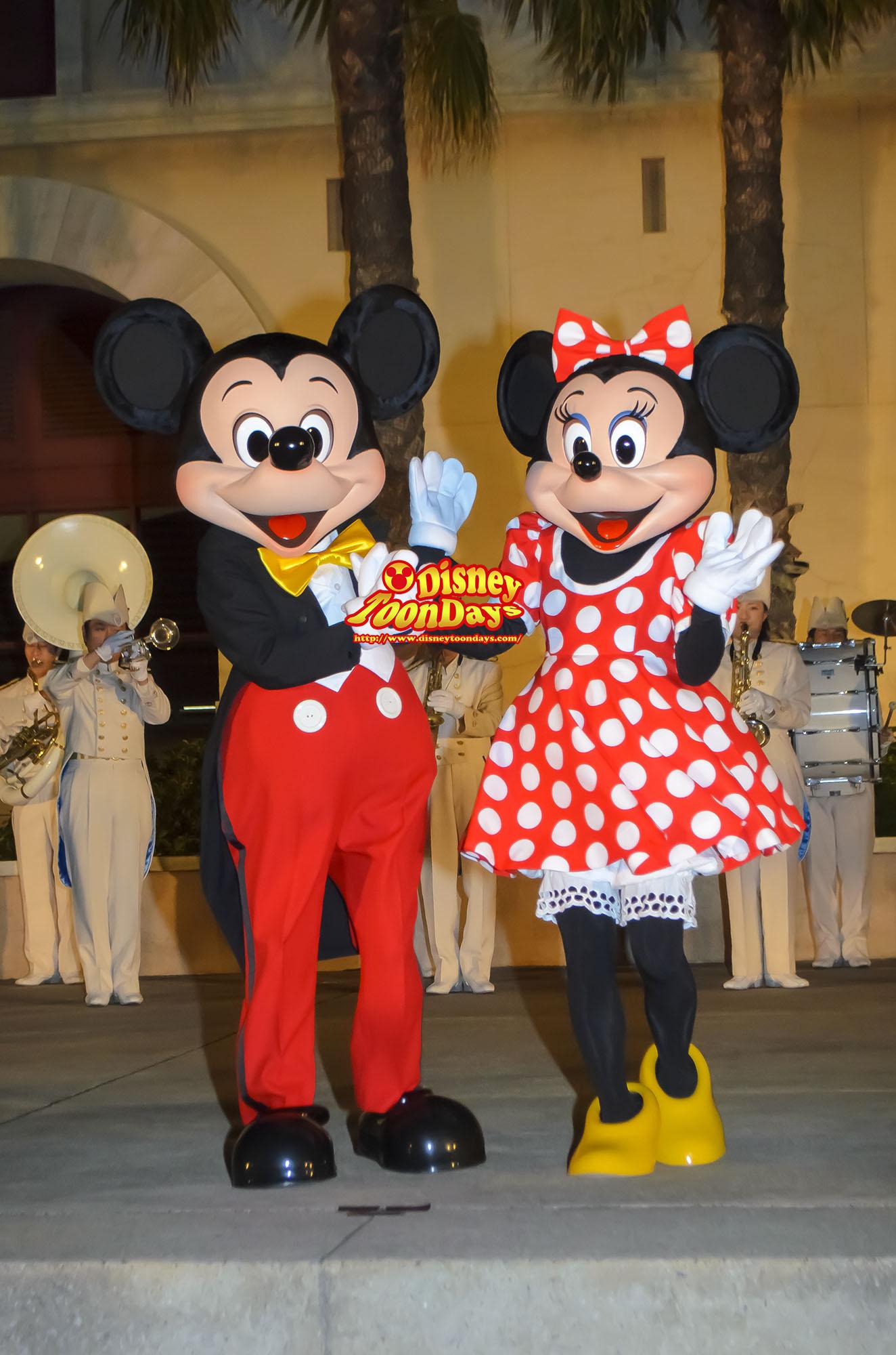 TDS ディズニーチャンネル プライベートイブニングパーティー ウェルカム・グリーティング フェアウェル・グリーティング ミッキーマウス ミニーマウス