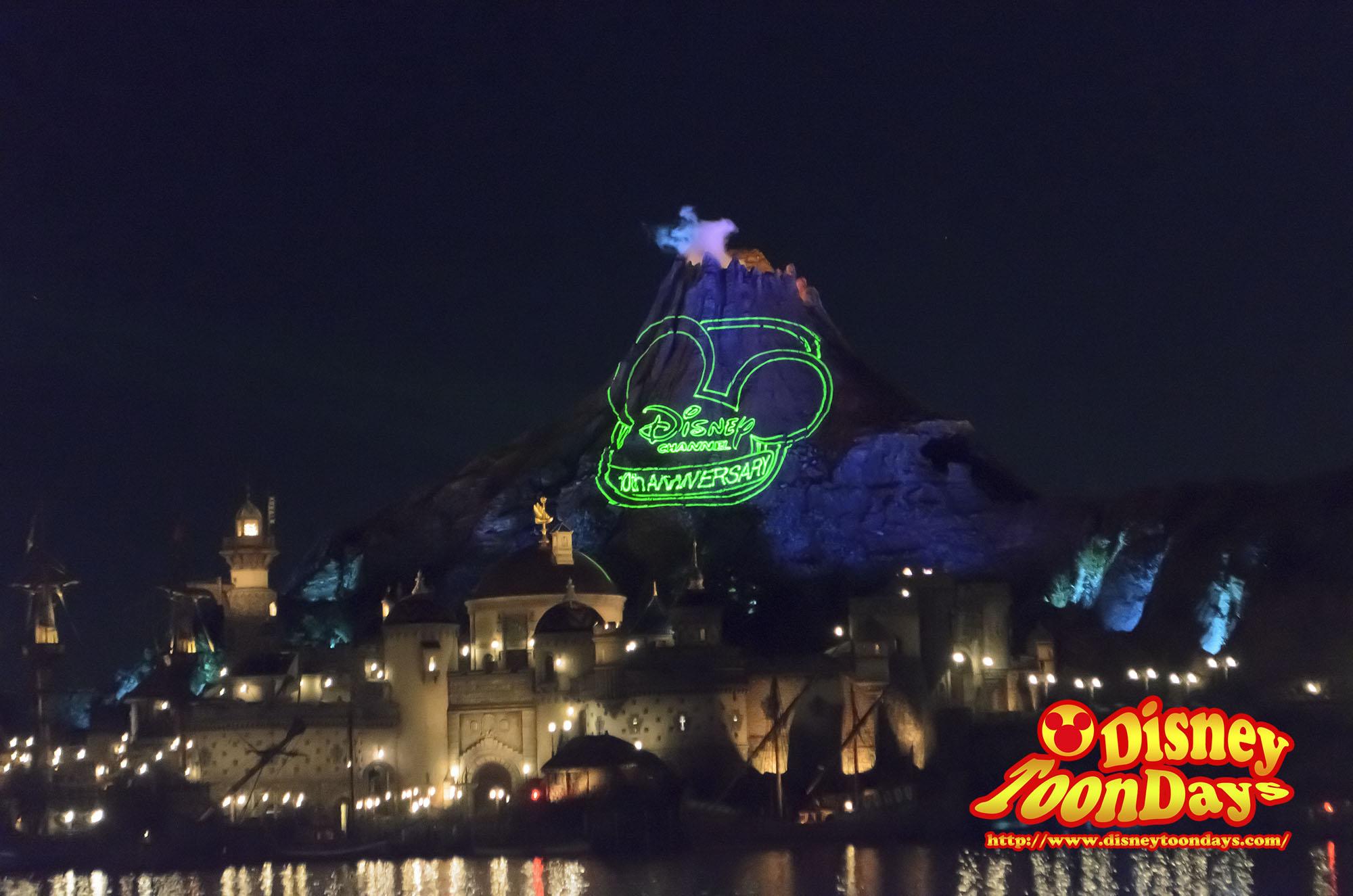 TDS ディズニーチャンネル プライベートイブニングパーティー 風景