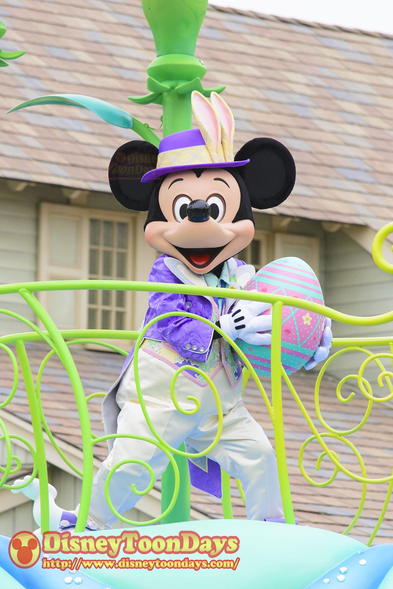 TDL ディズニー・イースター ヒッピティ・ホッピティ・スプリングタイム 2014 ミッキーマウス