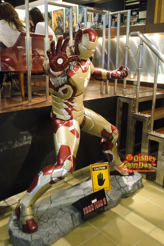 アメリカン・ヒーローズ・カフェ アイアンマン マーク42